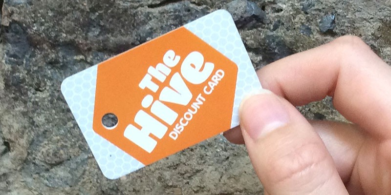 The hive discount card