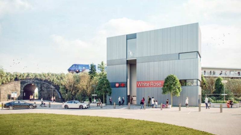 Proposed White Rose Rail Station